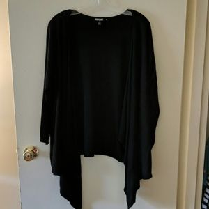 Women's high low cardigan with 3/4 sleeves